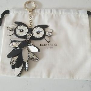 Kate Spade Owl Keychain